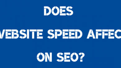 Does the site speed affect SEO?